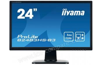 IIYAMA ProLite B2483HS-B3 - 24 pouces - A partir de : 155.86 € chez Zbpmedia chez Rakuten
