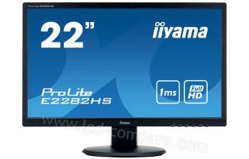 IIYAMA ProLite E2282HS-B1 - 22 pouces - A partir de : 109.30 € chez LBDNet chez Rakuten