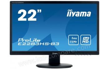 IIYAMA ProLite E2283HS-B3 - 21.5 pouces - A partir de : 109.99 € chez Cdiscount
