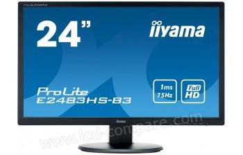 IIYAMA ProLite E2483HS-B3 - 24 pouces - A partir de : 129.99 € chez Cdiscount