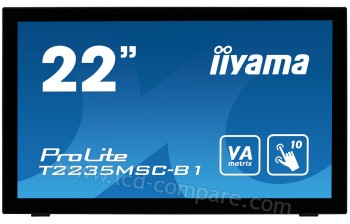 IIYAMA ProLite T2235MSC-B1 - 22 pouces - A partir de : 323.99 € chez m_plus chez Rakuten