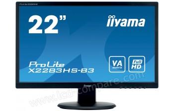 IIYAMA ProLite X2283HS-B3 - 21.5 pouces - A partir de : 99.99 € chez Cdiscount