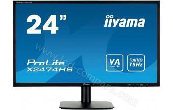 IIYAMA ProLite X2474HS-B1 - 23.6 pouces - A partir de : 126.99 € chez RueDuCommerce