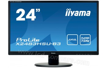 IIYAMA ProLite X2483HSU-B3 - 23.8 pouces - A partir de : 130.11 € chez Cdiscount