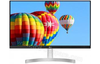 LG 24MK600M-W - 23.8 pouces - A partir de : 141.17 € chez MActual chez Rakuten