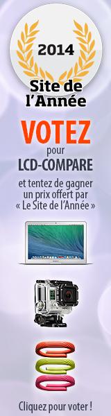 Site de l'ann�e 2014 ! Votez LCD-Compare